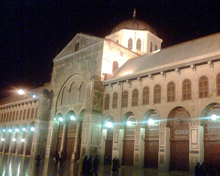 Umayyad Masjid in Damascus